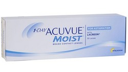 עדשות מגע יומיות | johnson & johnson Acuvue 1Day Moist for Astigmatism