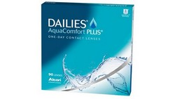 עדשות מגע יומיות | Alcon Dailies Aqua Comfort Plus 90