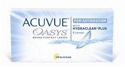 עדשות מגע דו-שבועיות | johnson & johnson Acuvue Oasys For Astigmatism